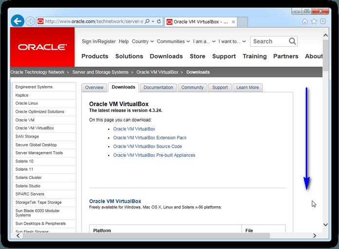 VirtualBox のダウンロード (Windows 以外)